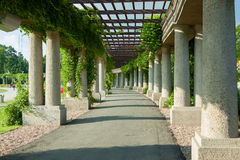 Pergola Wroclaw - Pologne Photos stock