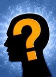 Pergunta? Imagens de Stock Royalty Free
