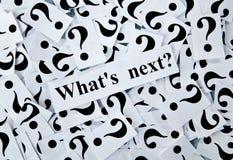 Pergunta Imagem de Stock Royalty Free