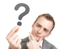 Pergunta Imagens de Stock
