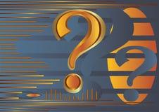 Pergunta Imagem de Stock