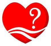 Pergunta do amor Foto de Stock Royalty Free