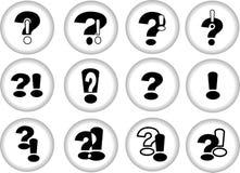 Pergunta e resposta Fotografia de Stock Royalty Free