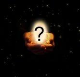 A pergunta grande Fotografia de Stock Royalty Free