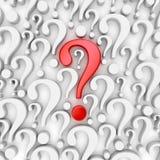 Pergunta Mark Background Foto de Stock Royalty Free
