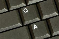 Pergunta/resposta Fotografia de Stock Royalty Free