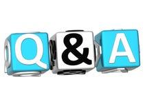 Pergunta & resposta ilustração do vetor