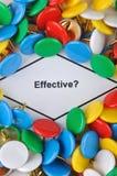 Pergunta sobre a eficácia Fotografia de Stock