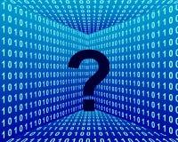 Pergunta técnica Fotografia de Stock Royalty Free