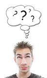 Perguntas ilustração stock