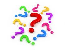 Perguntas Foto de Stock Royalty Free