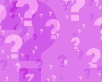 Perguntas ilustração royalty free