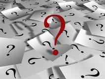 Perguntas Imagens de Stock Royalty Free