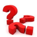 Perguntas Imagem de Stock
