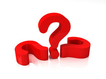 Perguntas e resposta Fotos de Stock
