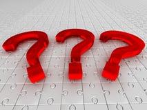 Perguntas. enigma ilustração do vetor