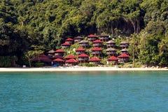 Perhentian海岛-马来西亚 库存图片