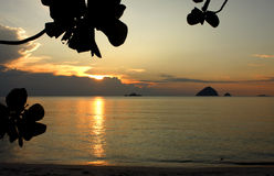 Perhentian海岛-马来西亚 免版税库存图片