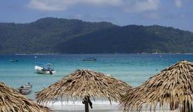 perhentian海滩的海岛 库存图片