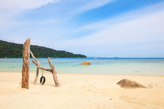 Perhentian ö, Besar, Malaysia royaltyfri foto
