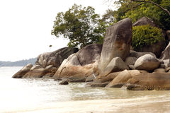 Perhentian öar - Malaysia Arkivfoton