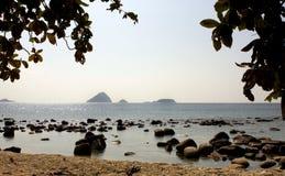 Perhentian öar - Malaysia Royaltyfria Foton