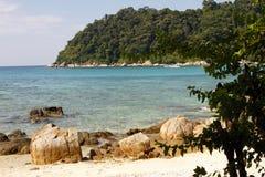 Perhentian öar - Malaysia Arkivbilder
