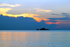 Perhentian öar - Malaysia Royaltyfria Bilder