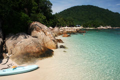 Perhentian island Royalty Free Stock Photos