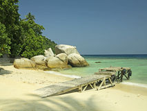 Perhentian Islands Jetty Royalty Free Stock Image