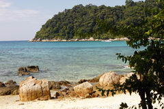 Beach - Perhentian islands - Malaysia Stock Images