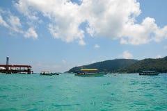 Perhentian wyspa, Malezja zdjęcie royalty free