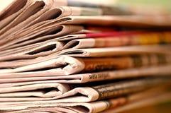 Periódico Foto de archivo
