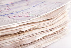 Periódico Fotografía de archivo libre de regalías