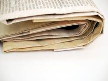 Periódico #2 Foto de archivo libre de regalías