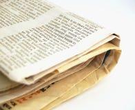 Periódico #3 Foto de archivo libre de regalías