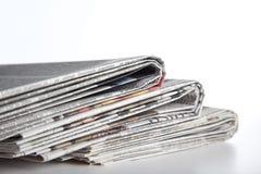 Periódico Imagenes de archivo