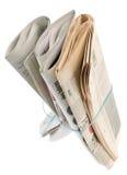 Periódico Imagen de archivo libre de regalías