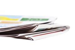 Periódico de mañana Foto de archivo libre de regalías