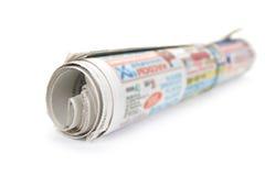 Periódico del manojo. Fotografía de archivo libre de regalías