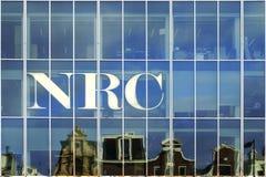 Periódico del NRC Fotografía de archivo libre de regalías