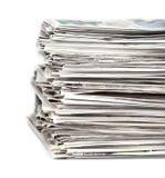 Periódicos 1 Imagenes de archivo