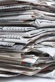 Periódicos Foto de archivo