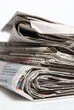 Periódicos Fotografía de archivo