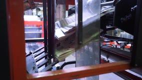 Periódicos de la impresión en tipografía metrajes