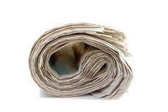 Periódicos viejos fotografía de archivo libre de regalías