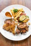 Peri peri κοτόπουλου Στοκ εικόνα με δικαίωμα ελεύθερης χρήσης