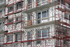 PERI formwork and scaffolding systems Stock Photo