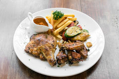 Peri peri κοτόπουλου Στοκ φωτογραφίες με δικαίωμα ελεύθερης χρήσης