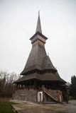 Peri wooden church in Sapanta, Romania. Stock Photos